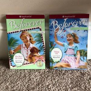 2 American Girl Maryellen Beforever books